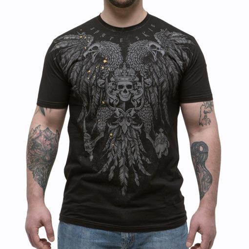 футболка с птицей