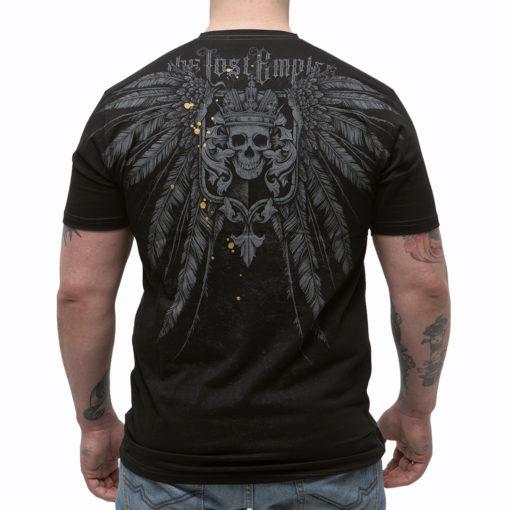футболка с орлом из костей, герб империи