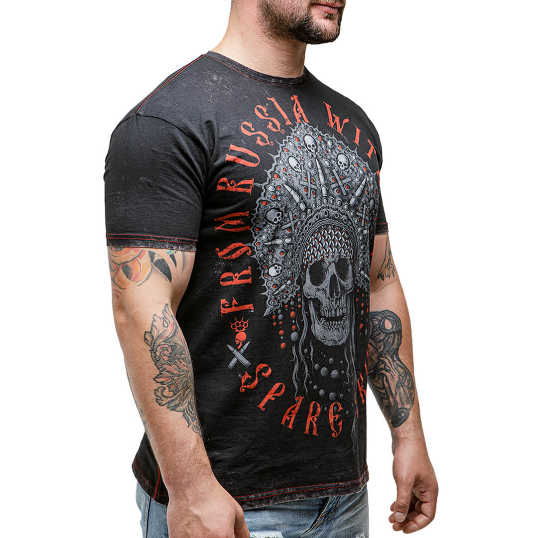 футболка скелеты