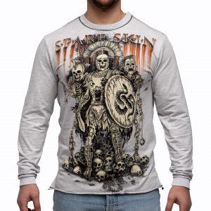 одежда с воинами скелетами, легион